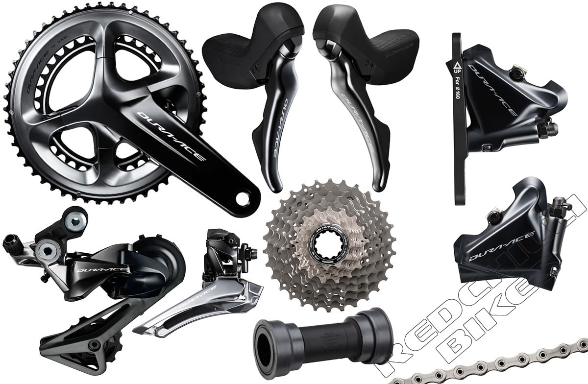 Shimano Dura Ace 9120 Groupset