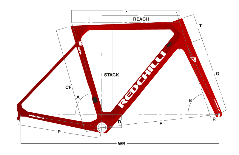 GR1 Red white Disc Geometry