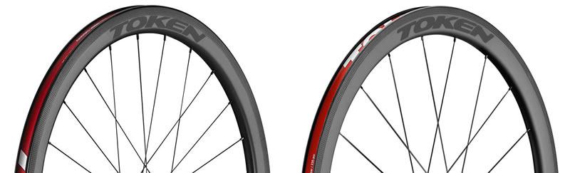 Token C45R Carbon Rims Black Label