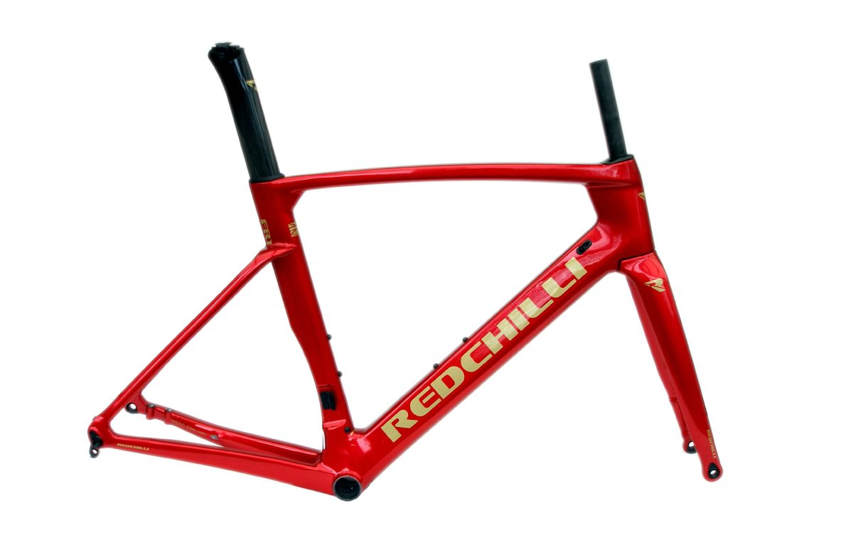 RedChilli Bikes FR1 Red Hot 2019 Frameset