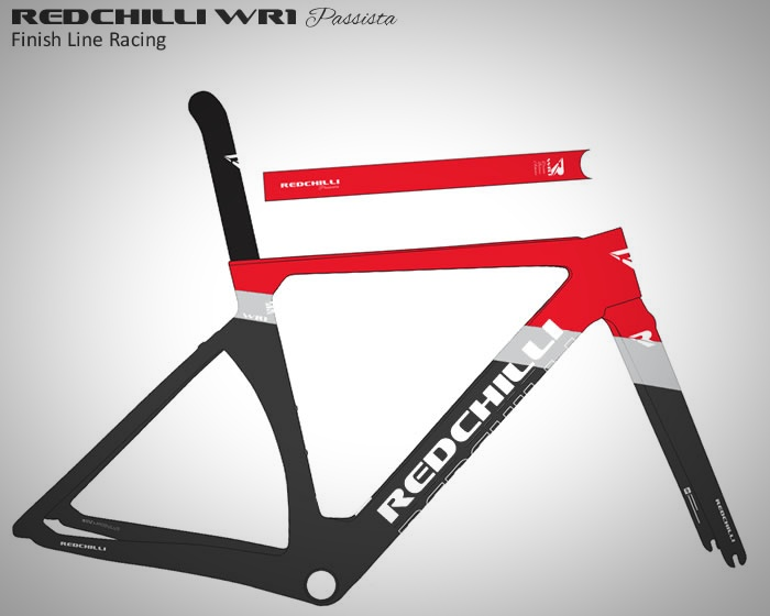 Redchilli Bikes WR1 Race Frame